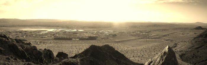 Desert Panorama by Outofthisworld