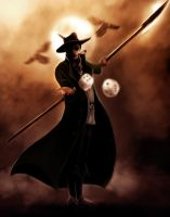 Dance with Jak o' the Shadows - Mat Cauthon by endave