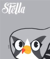 Silver - Angry Birds Stella style by The-Super-Brawl-Girl