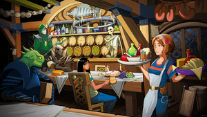 The Wandering Inn | Commission by Pino44io