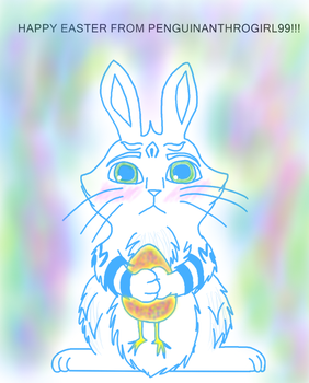 Happy Easter!!! by Penguinanthrogirl99
