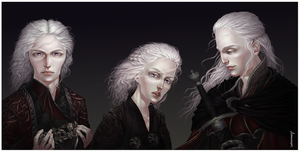 Young Targaryens by ProKriK