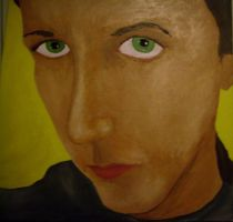 Self portrait painting by Zunii-H