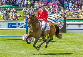 Ben Asselin and Veyron, Spruce Meadows June 11, 20 by calzephyr