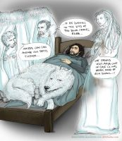 The New Ghosts of Winterfell by sketchditto