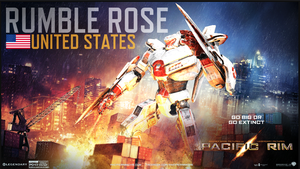 Pacific Rim: Rumble Rose by LadyMasquerade
