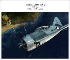 buffalo F2A3 by dugazm