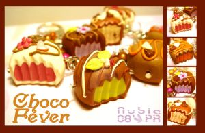 Choco Fever Charm Bracelet by colourful-blossom