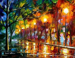 Impression by Leonid Afremov by Leonidafremov