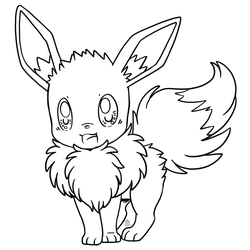 Eevee free to use lineart! by Scuterr