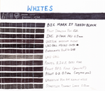 White Ink Tests by Colanah