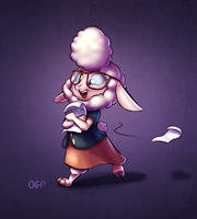 Dawn Bellwether by OneGutsyPony