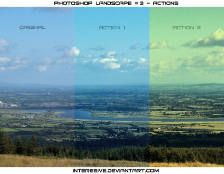 Photoshop Landscape #3 - Actions by interesive