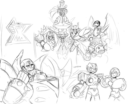 MMX Idea sketch comp by Essai