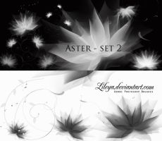 Aster set 2 by Lileya