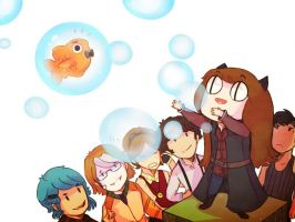 Bubbles! by 1WebRainbowe1