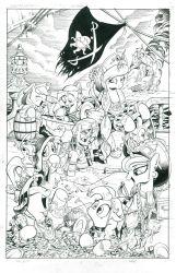 My Little Pirate by andypriceart