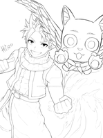 A start of a new adventure WIP by HiroSenpaiArt