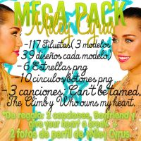 Mega Pack Miley Cyrus by Dreamflawless