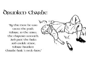 Tam O'Shanter, Drunken Charlie by SavantGuarde