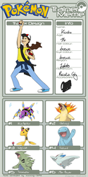 My Pokemon Trainer Meme by VVandala