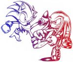 Sonic and Knuckles - Rivals by TheStiv