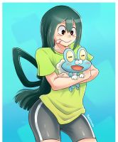 Froppy and Froakie