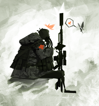 The soldier and the fairy by DeadSlug