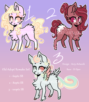Remade Adopts Auction 2/3 OPEN by Acry-Artwork