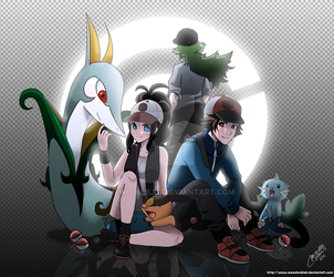 Pokemon Black and White by mewDoubled