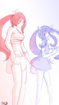 224 Wendy and Erza cens by SketchMan-DL