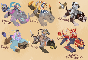 Sejuani Skins that will never happen ver 5 by Hyper-Stan