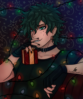 Deku by SirinAnari