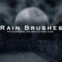 Rain Brushes by ObscureLilium
