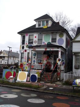 Heidelberg Project- Polka Dot House by 2case