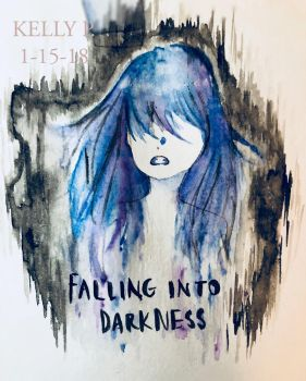Falling into Darkness by khp0245