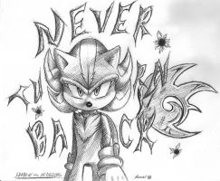 Never Turn Back: Ink Pen Shadow by FayeleneFyre