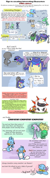 How to make Interesting Characters (pmd edition) by CrazyIguana