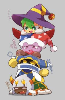 Kirby's Villians stack by falconburst322