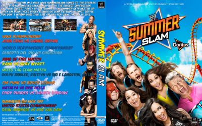 WWE SummerSlam 2013 by Spacehoper29
