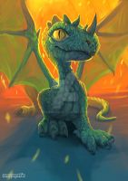Dragon. Fantastic beast and where to find them by maryquiZe