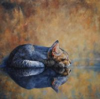On Reflection-PAINTING by AstridBruning