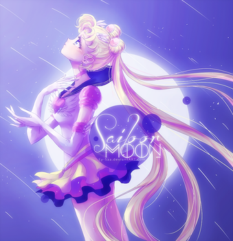 [Coloring] Sailor Moon by Ey-Saa
