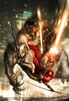 red's vengeance ::: monsters and dames 2012 by johngiang