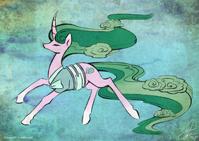 Legend of Mistmane by Chirpy-chi