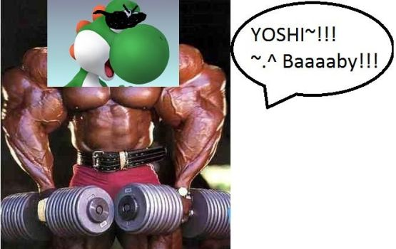 Yoshi...All Grown up :D by MetaSigma