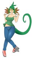 Lizard Girl by UnagiTakanashi