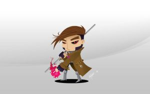Gambit wallpaper by adolfo