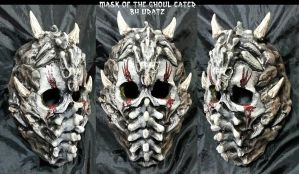 mask of the Ghoul Eater 01 by Uratz-Studios