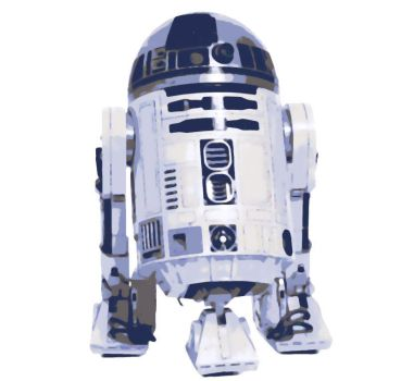 Star Wars R2D2 Paint By Number Art Kit by numberedart